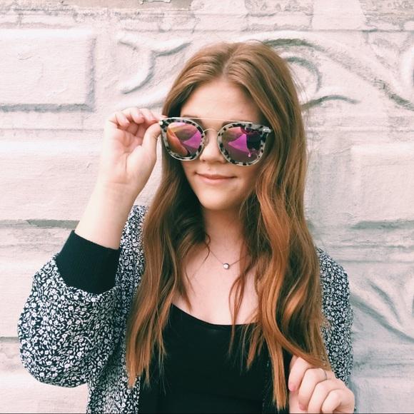 e18eaf0a2580c Diff Eyewear Accessories - Diff Eyewear Sunglasses in Zoey Oversized  Aviators